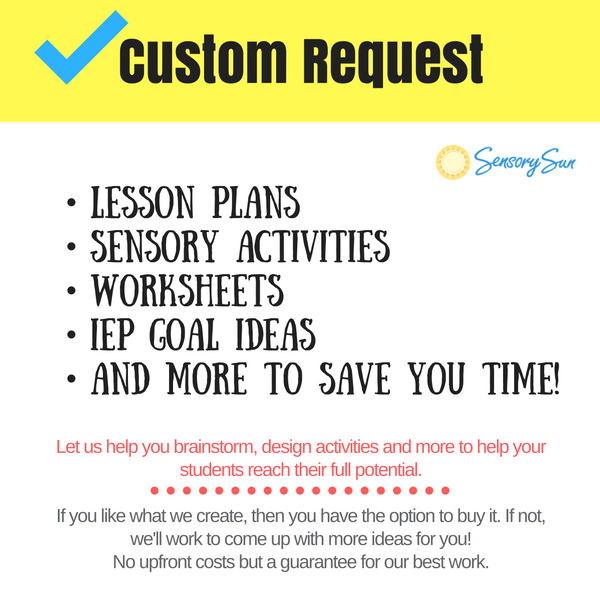 activities for blind students free custom request
