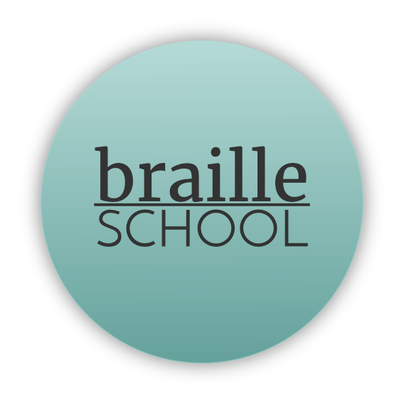 braille school logo